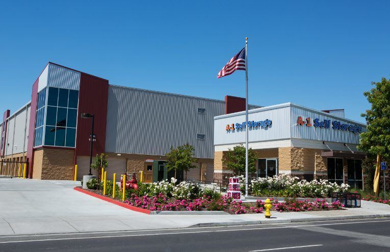 A-1 Self Storage located on San Jose -  Senter Rd.