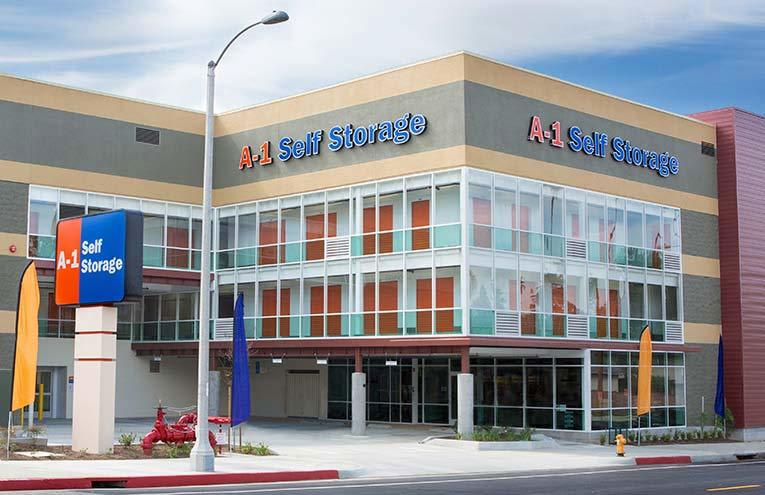 A-1 Self Storage located on Alhambra.
