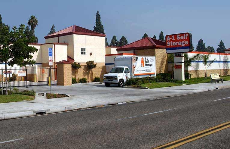 A-1 Self Storage located on W. Commonwealth Avenue
