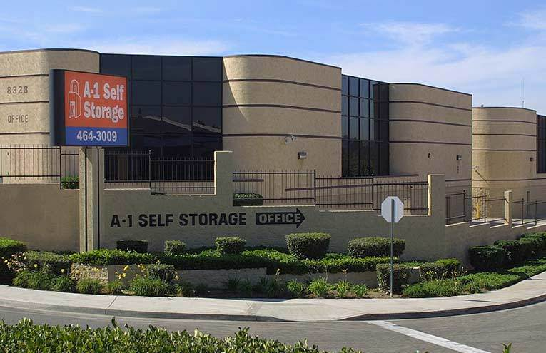 A-1 Self Storage located on Center Drive.