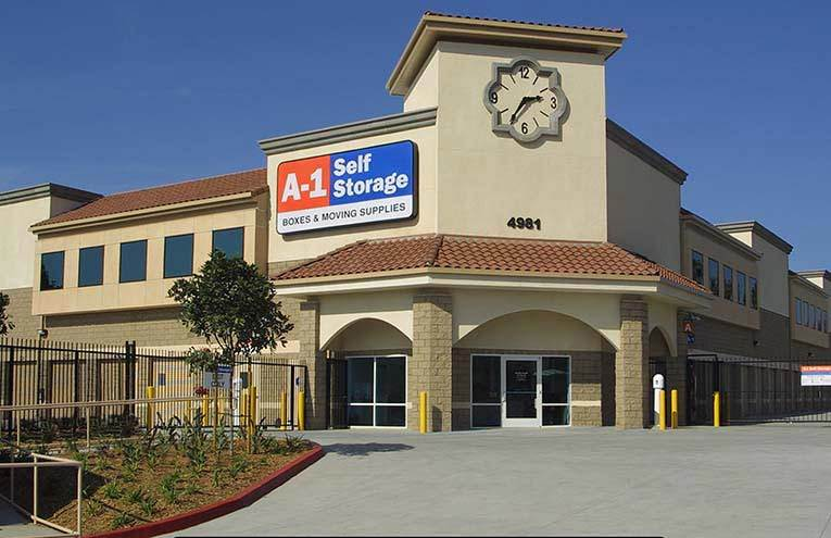 A-1 Self Storage facility located on Spring Street.