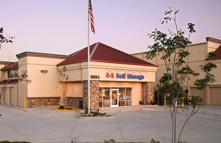A-1 Self Storage facility located on Riverford Road.