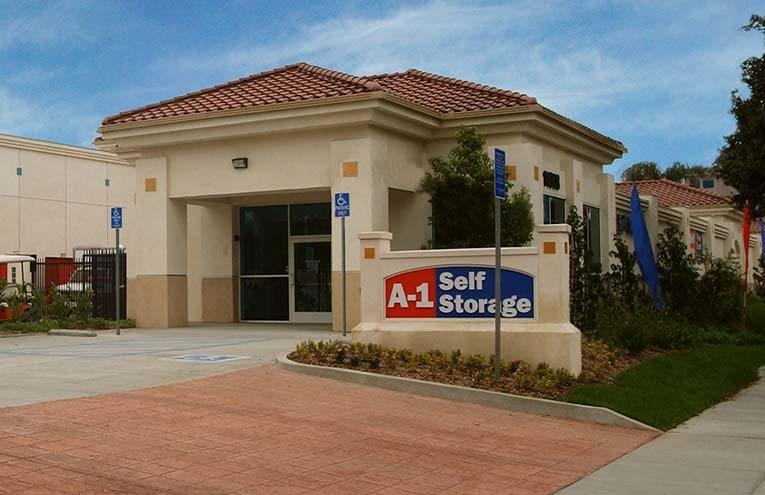 A-1 Self Storage facility located in Paramount, CA