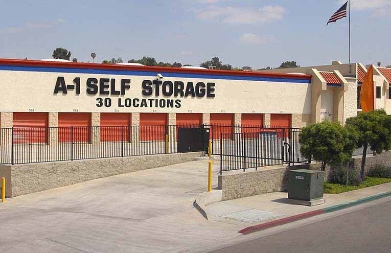 A-1 Self Storage located in San Diego, Mission Valley