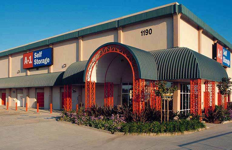 A-1 Self Storage located on W Morena Blvd, Suite B.
