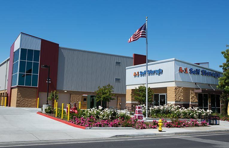 A-1 Self Storage facility located on Senter Road.