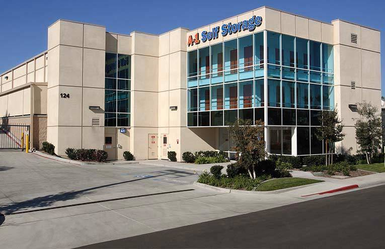 A-1 Self Storage located in Vista