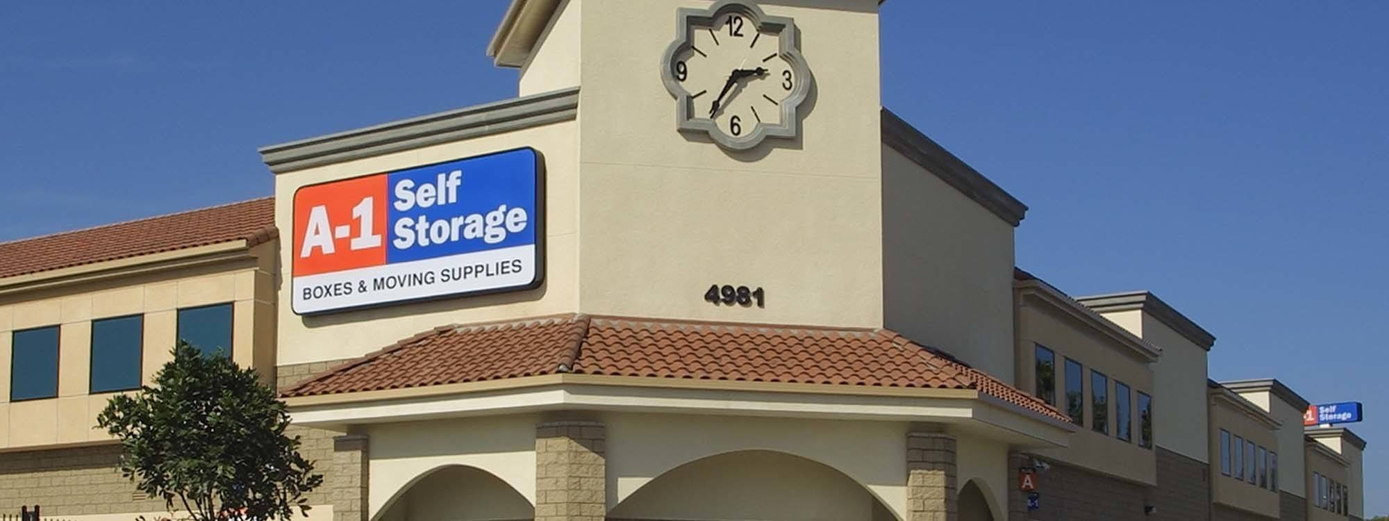 Self Storage Greater Village La Mesa California A 1 Self Storage