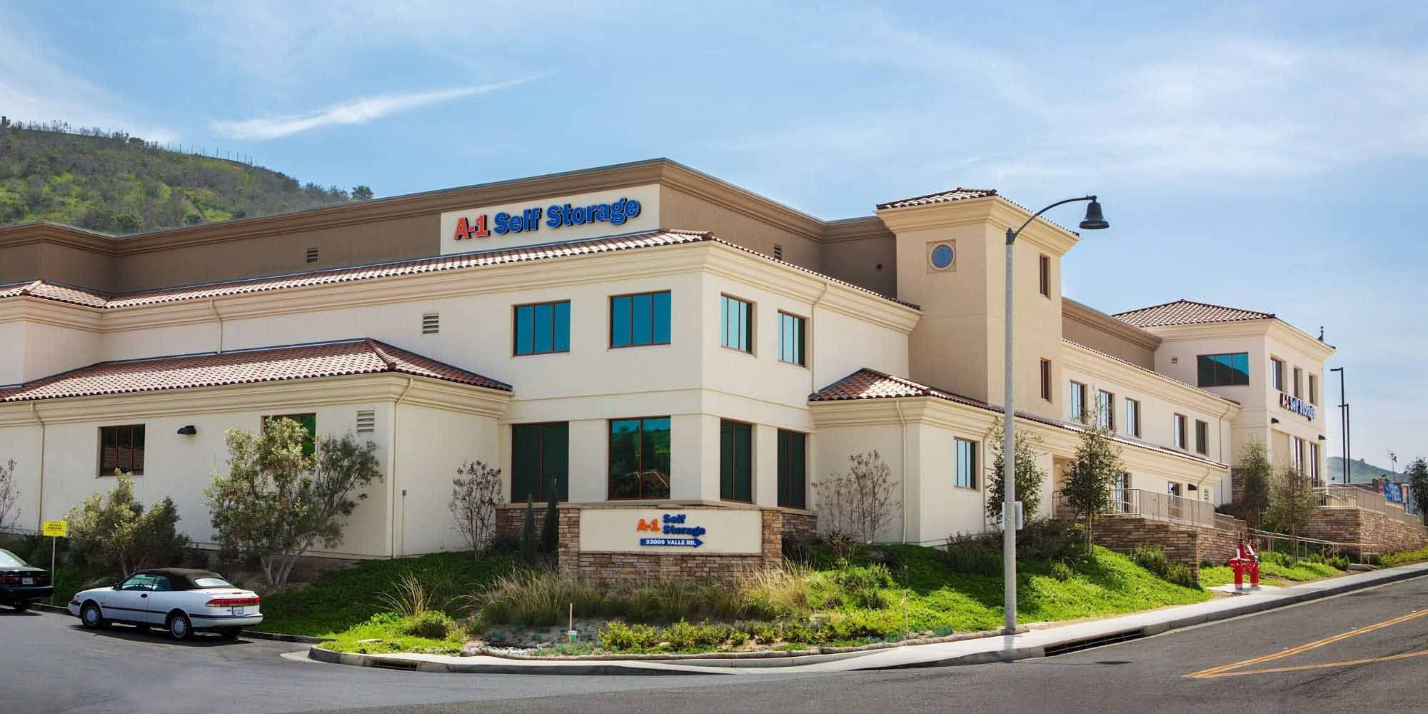 Self storage in San Juan Capistrano CA