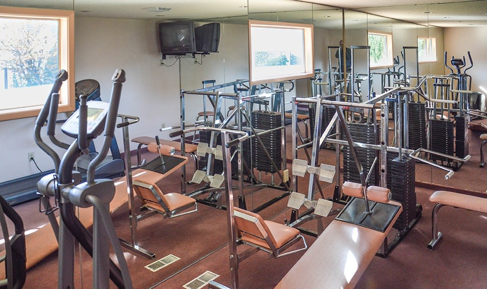 Get fit at our on-site fitness center at Northpoint in Richland.