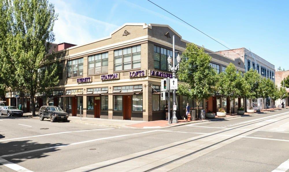 Exterior of Everett Station