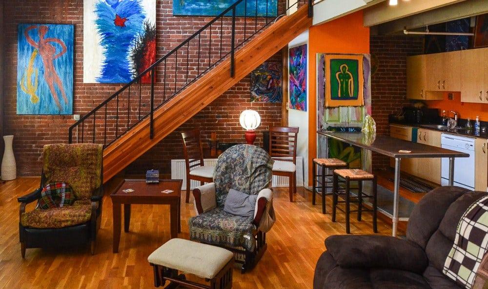 Living Room at Everett Station