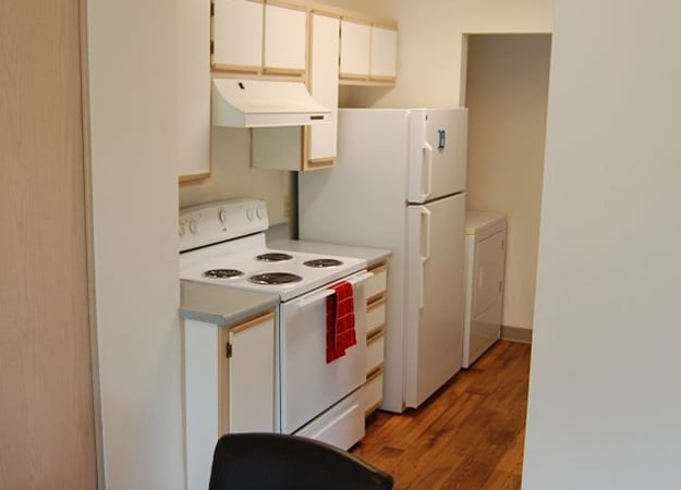 The apartment homes at Fairview Oaks/Woods all have fully equipped kitchens.