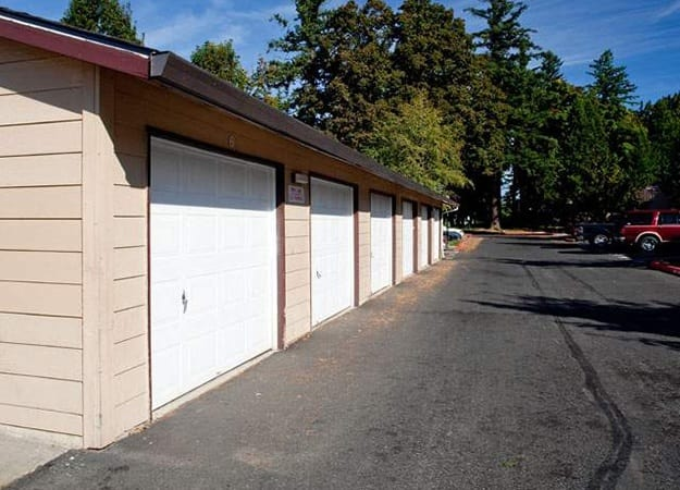 We have covered and secure garages available at Fairview Oaks/Woods in Fairview.