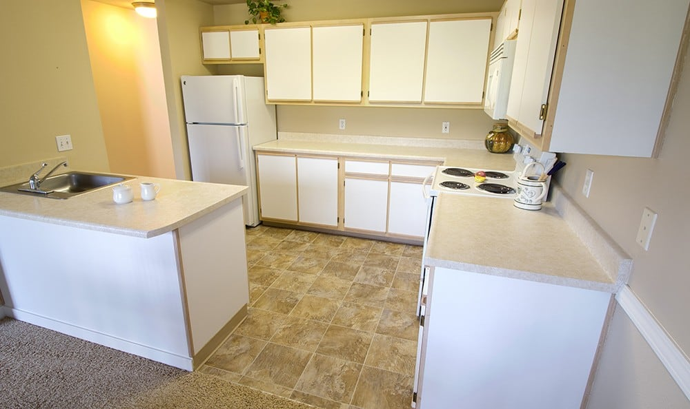 All the apartment homes at Greenbrier at Tanasbourne in Beaverton come with an in-unit washer and dryer!