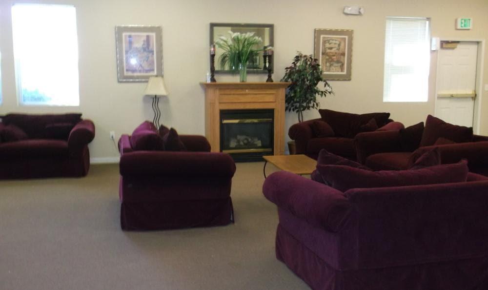Living room at Orchard Glen