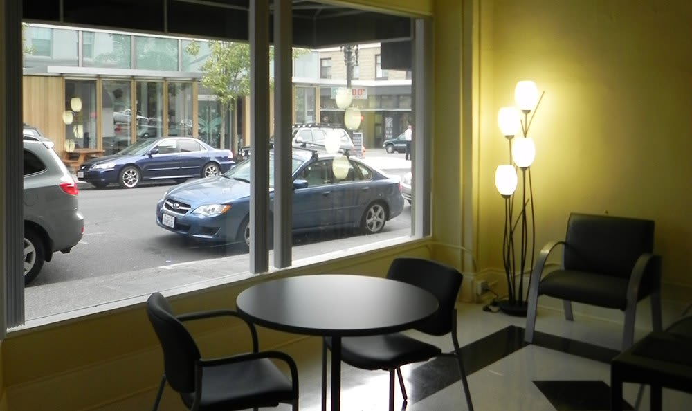 Front Window at Rosenbaum Plaza