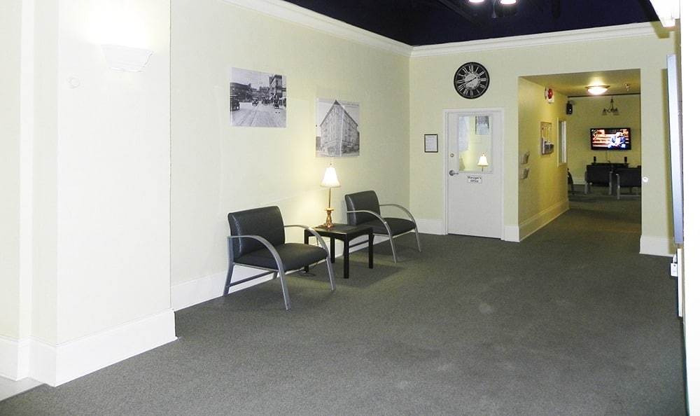 Hallway at Rosenbaum Plaza