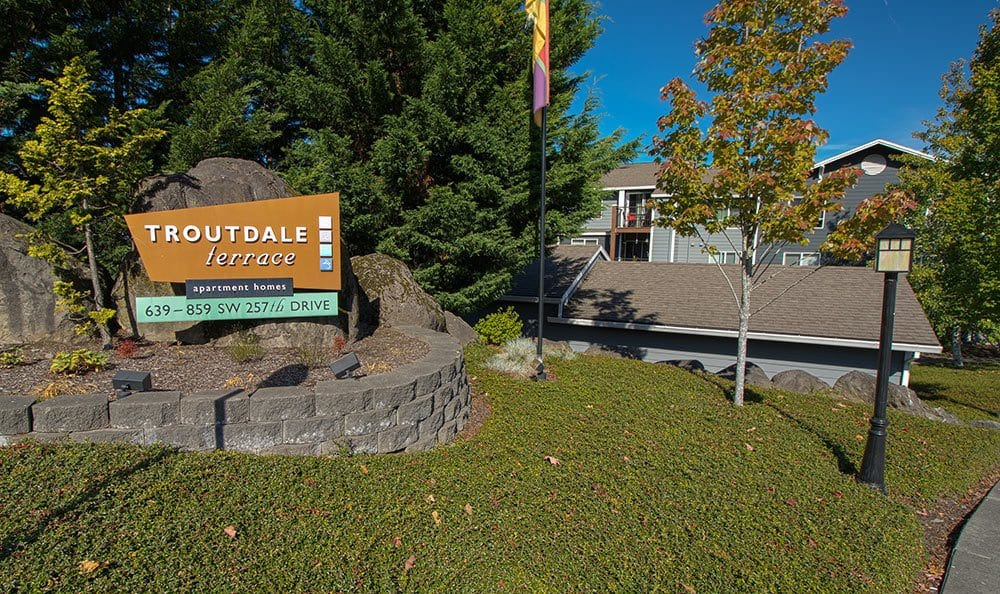 Learn more about our apartments for rent in Troutdale; contact us today.