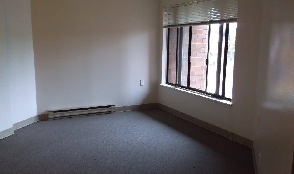 Model bedroom of Unthank Plaza