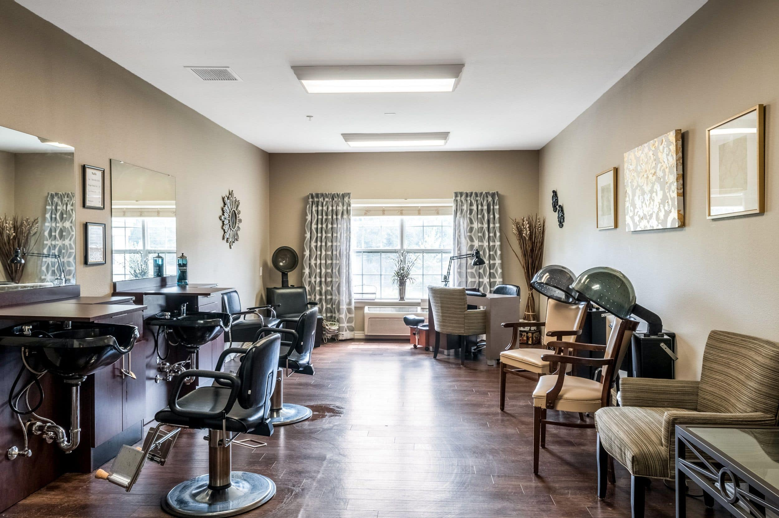 Beauty Salon At Our Senior Living Home In Covington