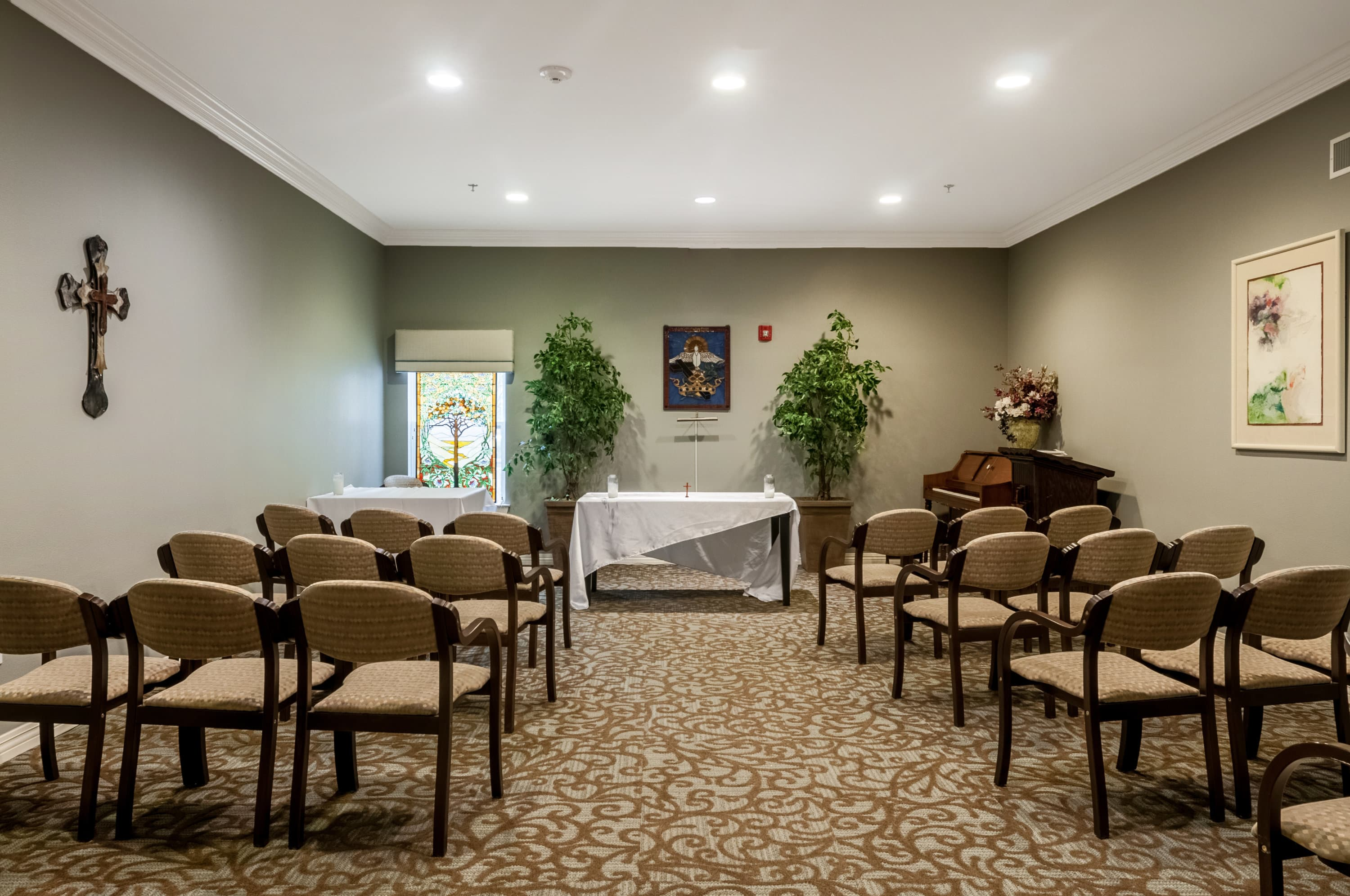 Church At Our Senior Living Home In Covington