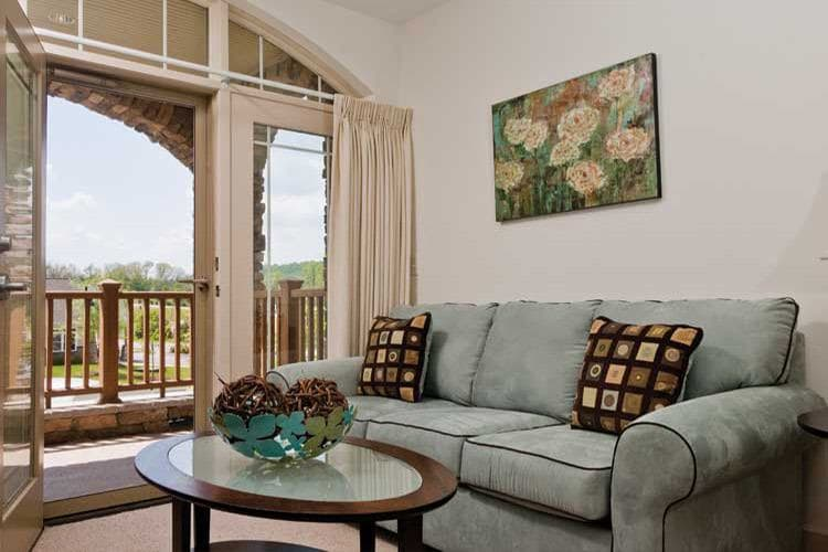 One of Spring Mill's model apartments