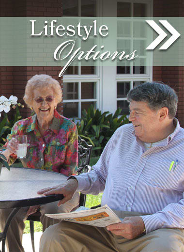 Living options at Carmel Village