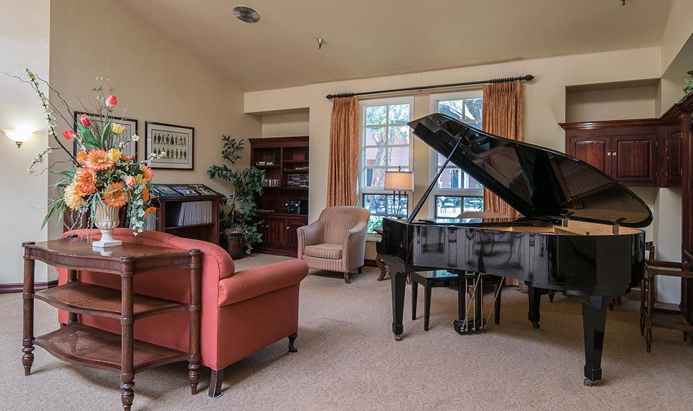 Piano at Carmel Village in Fountain Valley CA