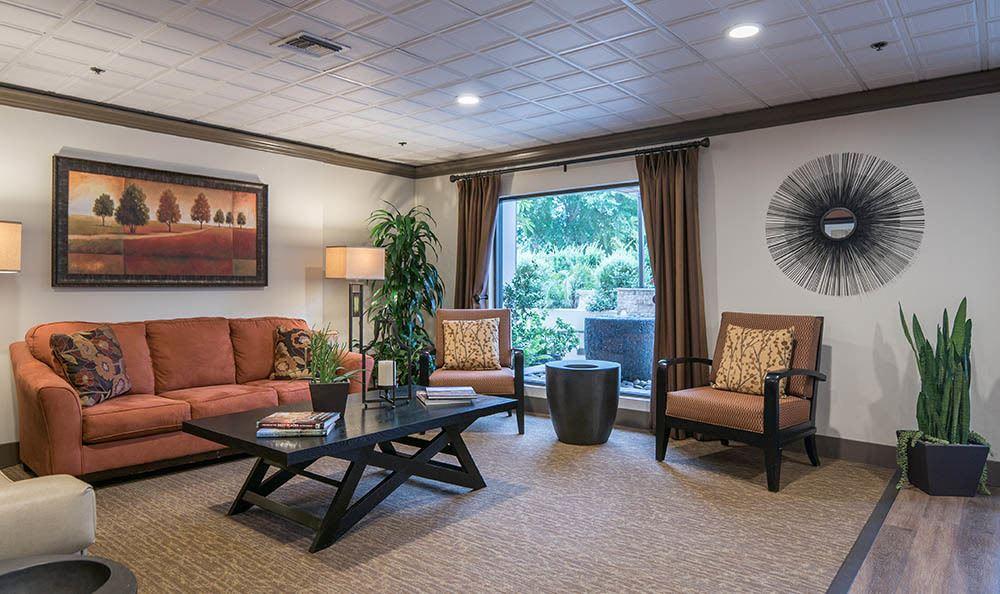 A living room option at Pasadena Highlands