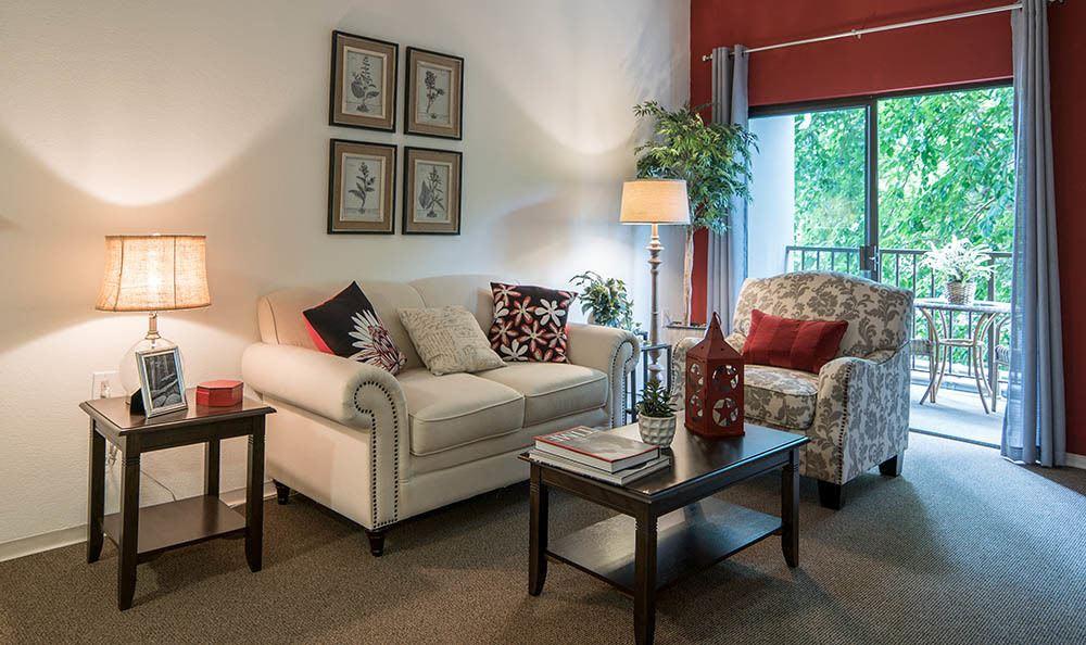 Living room option at Pasadena Highlands