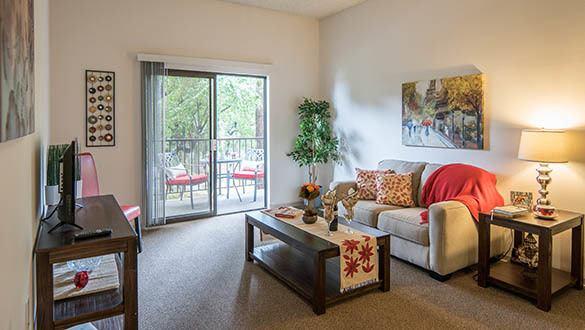 Model floor plan at Pasadena Highlands