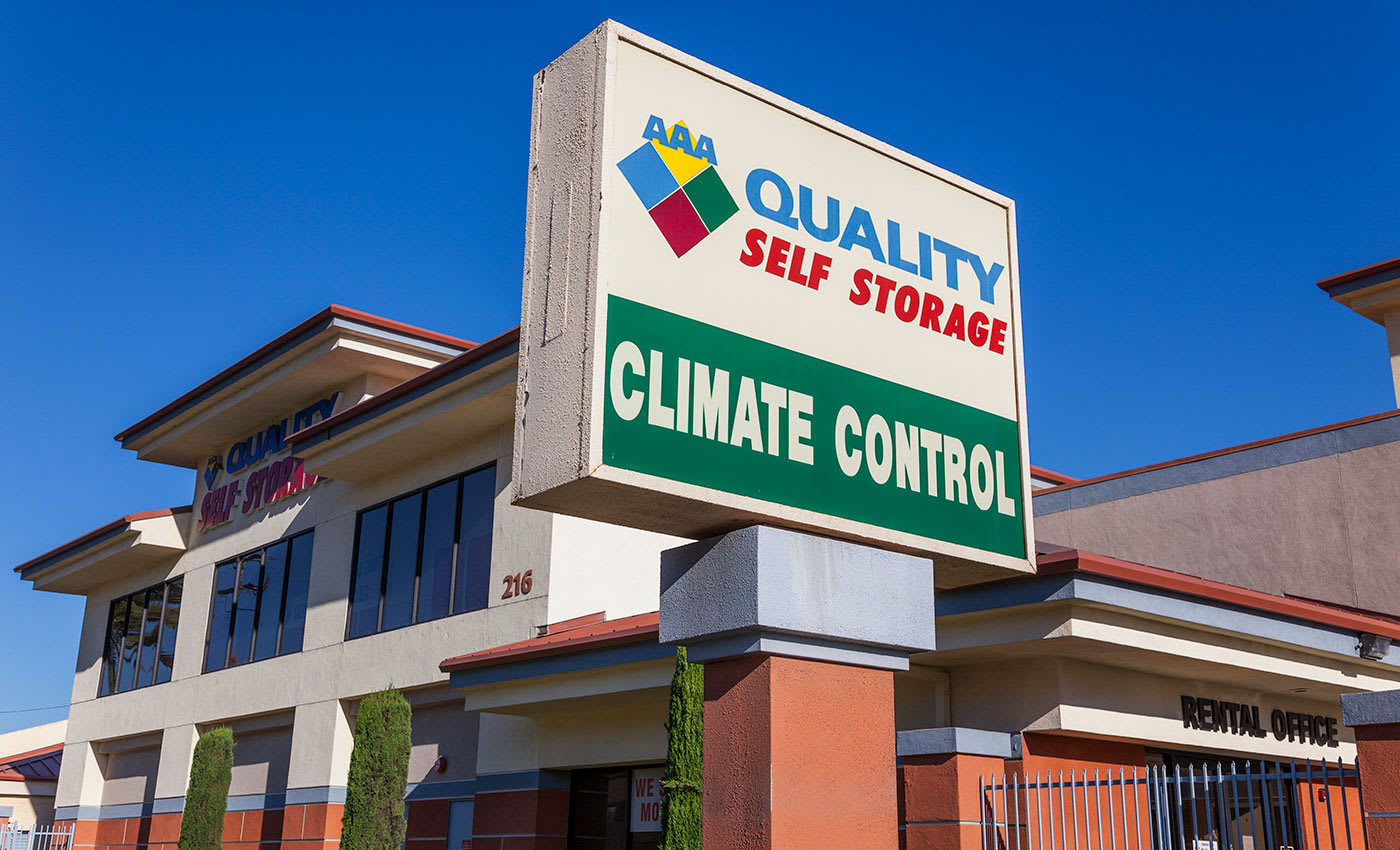 The interiors of our storage facility here in Covina are always kept clean and free of debris at AAA Quality Self Storage.