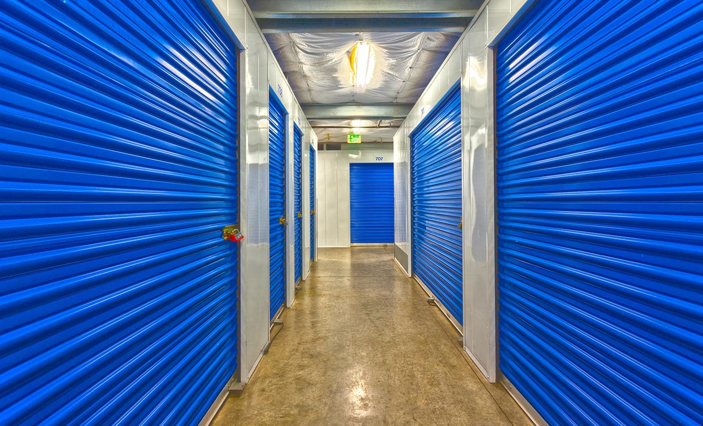 The interiors of our storage facility here in Long Beach are always kept clean and free of debris at AAA Quality Self Storage.