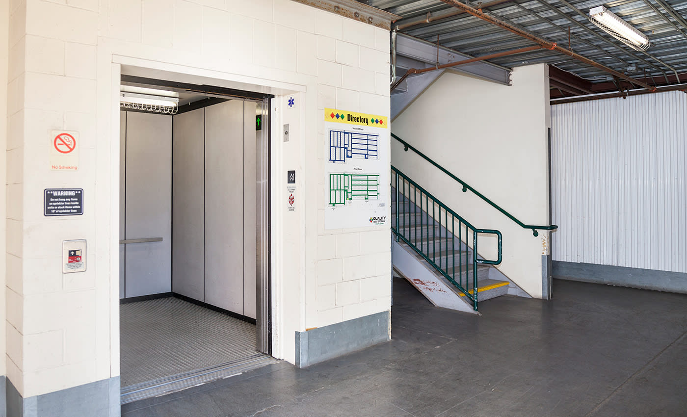 Our storage facility at AAA Quality Self Storage is secured by a computer-controlled access gate, individually alarmed units, cameras, and more.