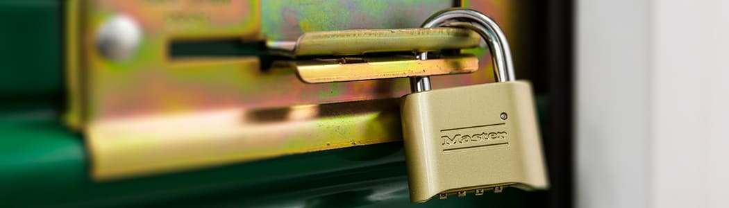 You can choose from a selection of high-security locks and more in the office at Sun Valley Self Storage.