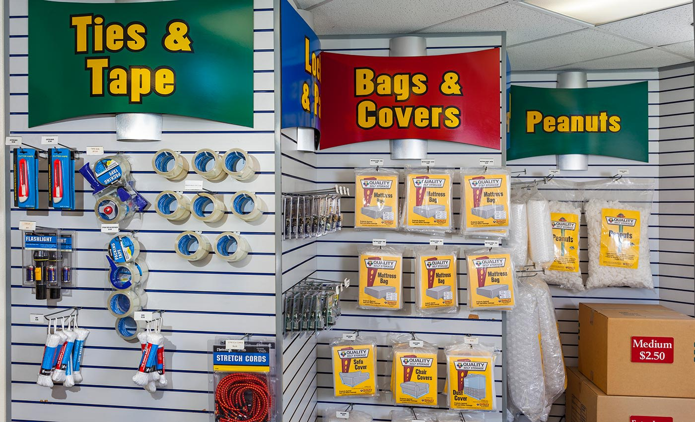We're your one-stop shop for your packing, moving, and storing needs at Your Space Self Storage in Norwalk.