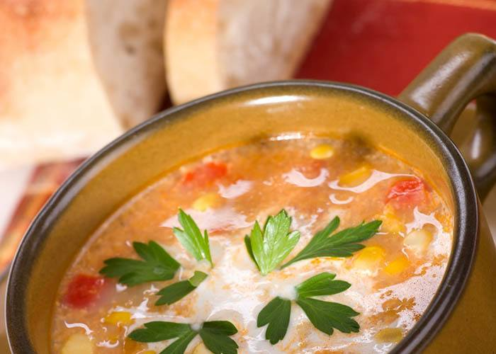 Enjoy a hearty stew at Brightwater Senior Living of Highland