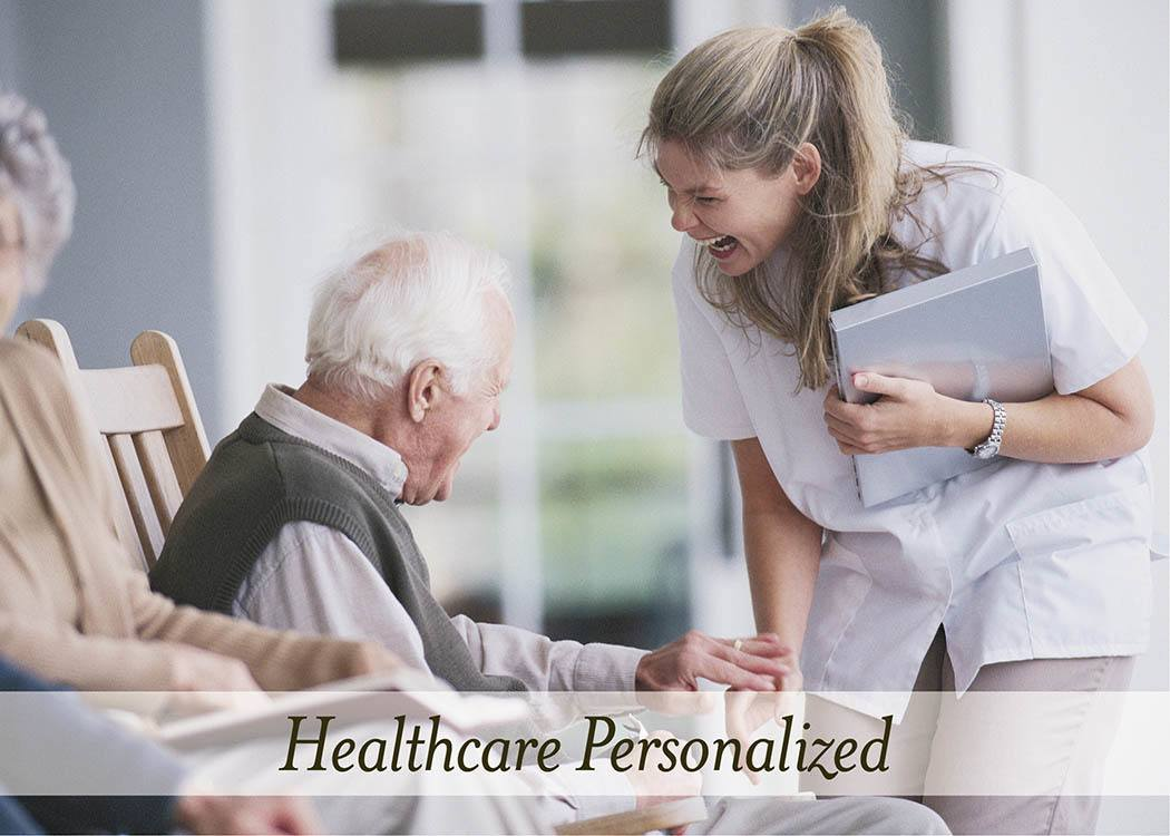 Healthcare personalized