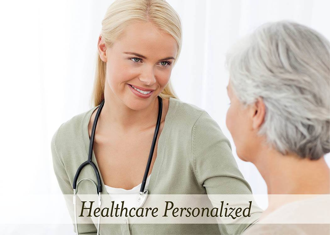 Personalized healthcare at Brightwater Senior Living of Highland