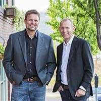 Our founders, Steve and Randall