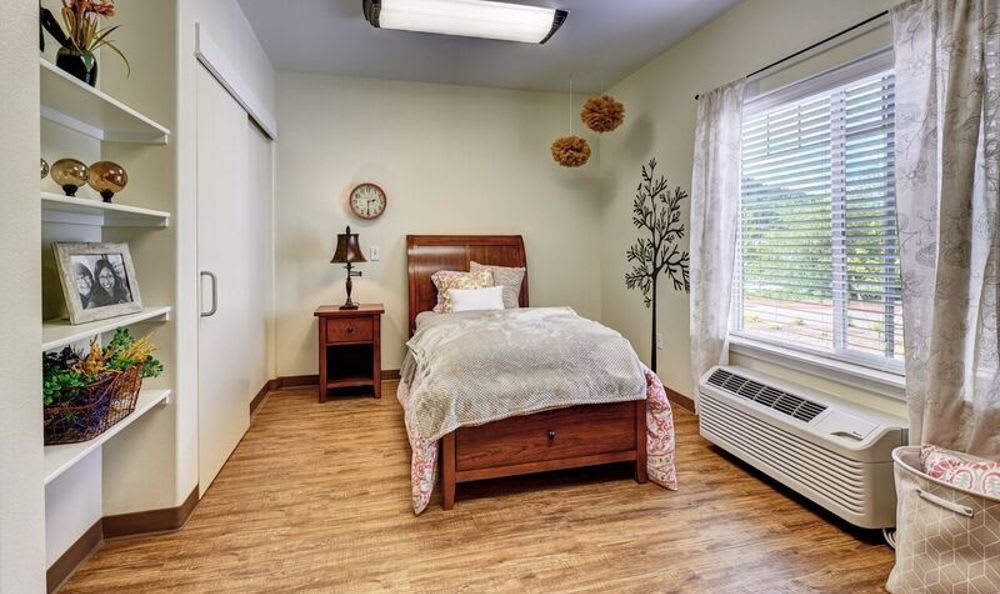 Bedroom at Sunnyside Meadows Memory Care