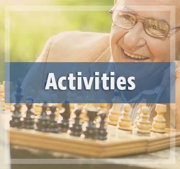 Enjoy all the fun activities at The Rawlin at Riverbend Memory Care
