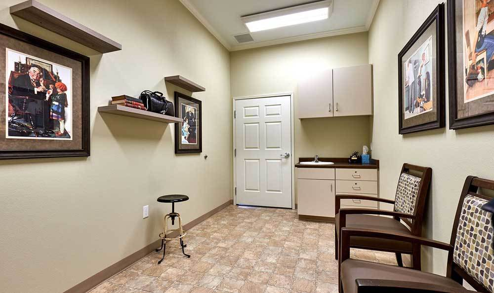 Doctor's Office at The Rawlin at Riverbend Memory Care