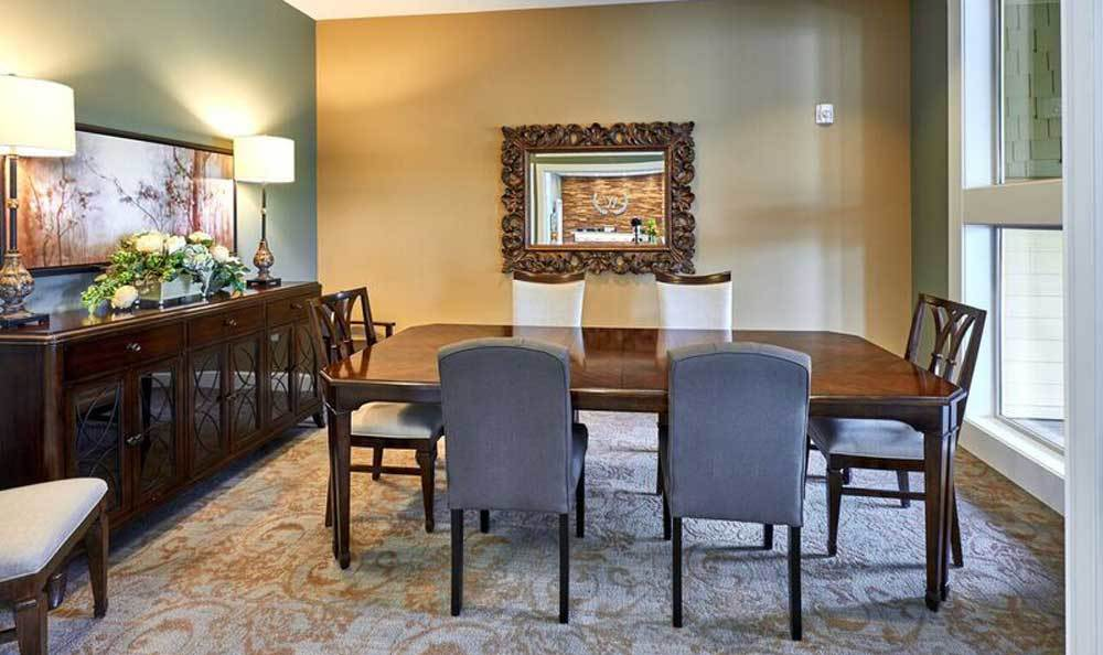 Dining area at Shadow Mountain Memory Care in Phoenix, Arizona