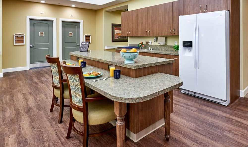 Kitchen at Waterhouse Ridge Memory Care in Beaverton, OR
