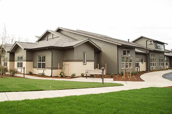 Green Grass Around Our Building at Waterhouse Ridge Memory Care
