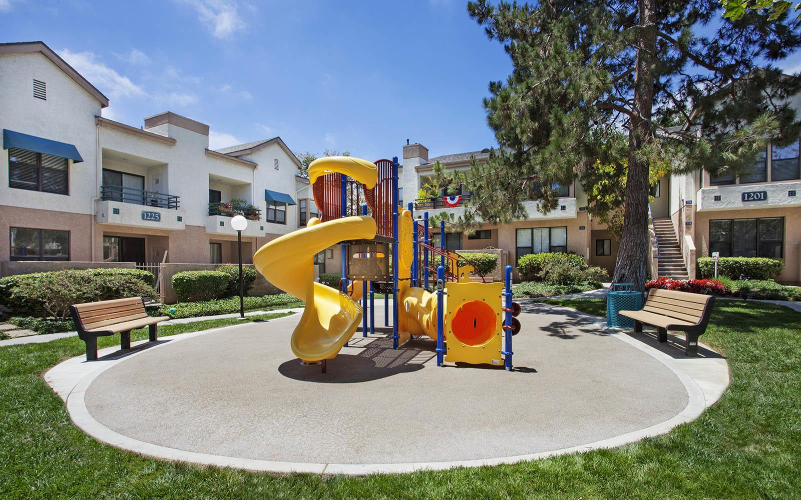 Children's Playground at Cypress Point Apartments in Ventura, CA