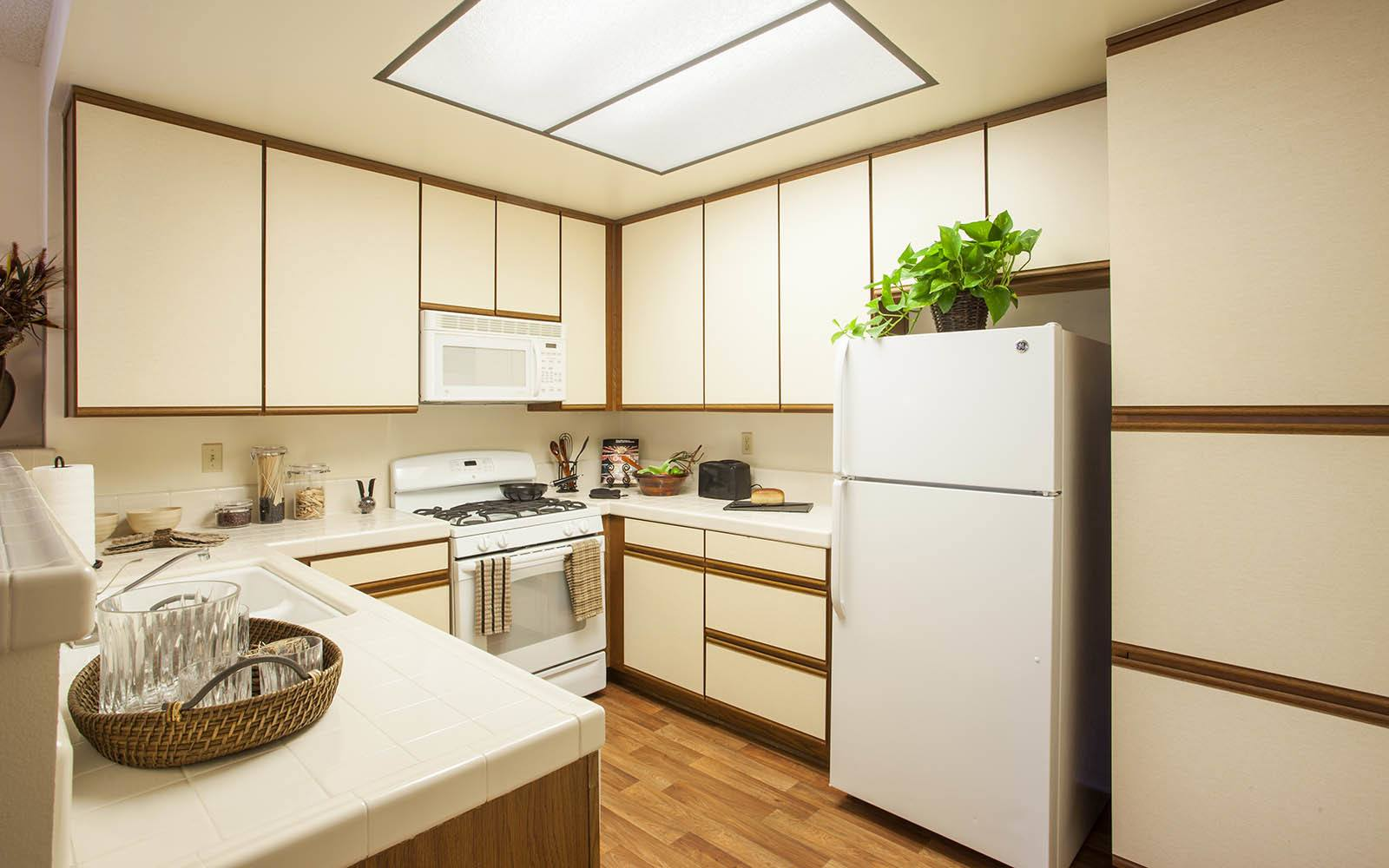 Large Brightly Lit Kitchen at Cypress Point Apartments in Ventura, CA