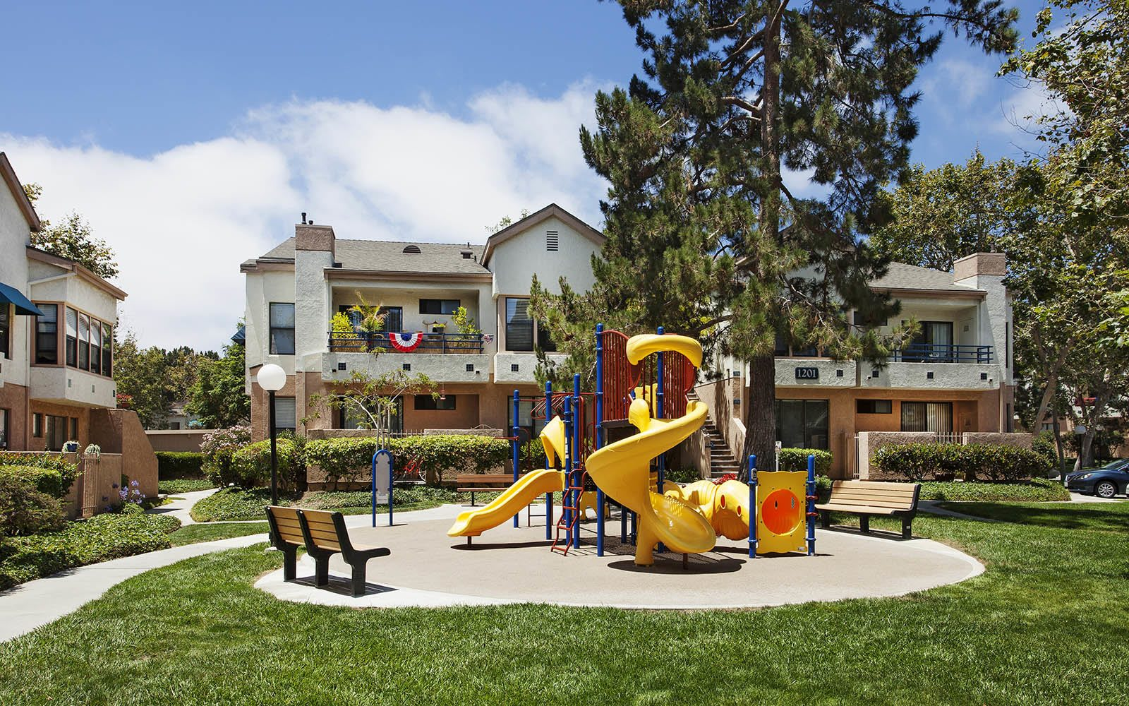 Park Like Kids Play Area at Cypress Point Apartments in Ventura, CA